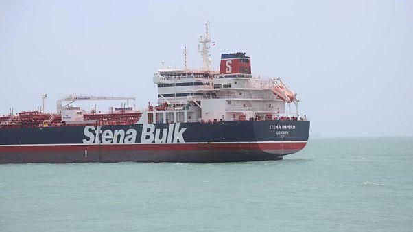 Irán lefoglalt egy brit tankert a Perzsa-öbölben