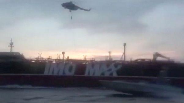 سپاه پاسداران ویدئوی عملیات توقیف نفتکش بریتانیایی را منتشر کرد