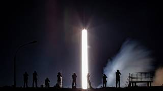 سه فضانورد همزمان با پنجاهمین سالگرد سفر انسان به ماه، عازم فضا شدند