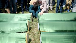 Tömeges temetést tartottak Boszniában