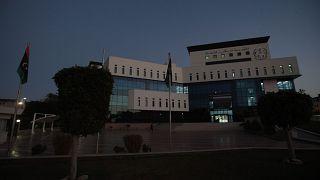 مبنى يضم المؤسسة الوطنية الليبية للنفط ووزارة النفط الليبية في طرابلس
