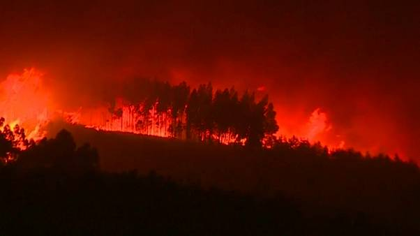 Más de 20 heridos en Portugal en una nueva oleada de incendios