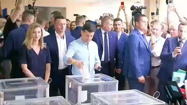"Zelenski: ""El primer ministro de Ucrania será un economista"""