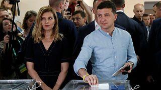 آغاز شمارش آراء انتخابات پارلمانی اوکراین؛ حزب حاکم پیشتاز است