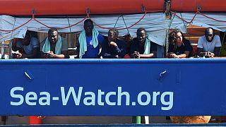 کشتی نجات پناهجویان فعالیت خود را در آبهای مدیترانه از سر گرفت