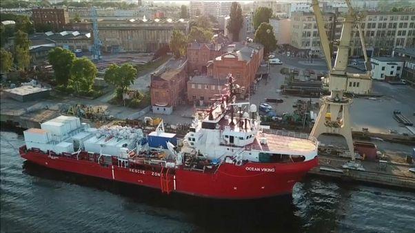 Norvég hajóval mentik a menekülteket a Földközi-tengeren