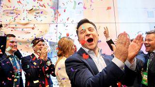 Rund 44 Prozent: Partei Diener des Volkes gewinnt Parlamentswahl