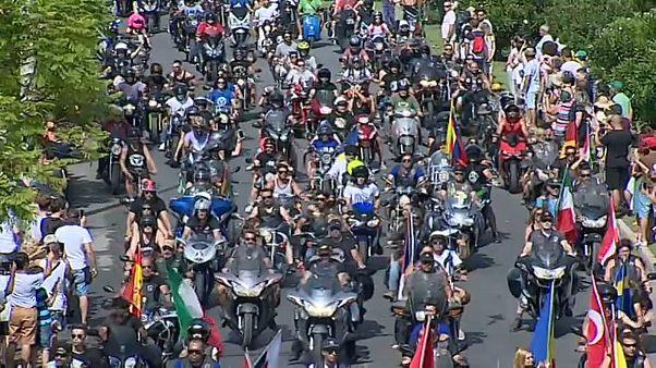 Milhares de motards despedem-se de Faro