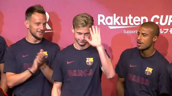 Party in Tokio: FC Barcelona trifft FC Chelsea