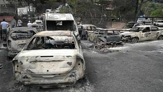 Ein Jahr nach der Feuerkatastrophe von Mati