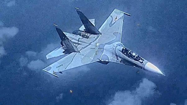 EEUU denuncia el acoso de un caza venezolano a una de sus aeronaves
