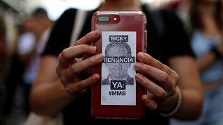 El gobernador de Puerto Rico renuncia a la reeleción, pero no dimite