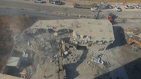 """Israel tira abajo doce edificios palestinos en Cisjordania """"por seguridad"""""""