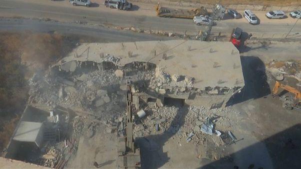 Israel inicia demolição de prédios em área palestiniana