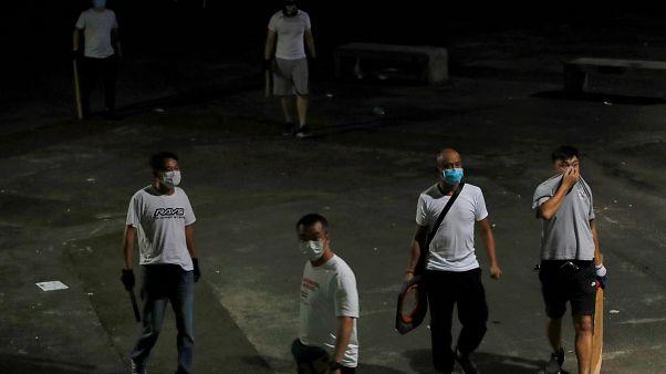 Des gangs mafieux chinois tentent de briser la contestation à Hong Kong