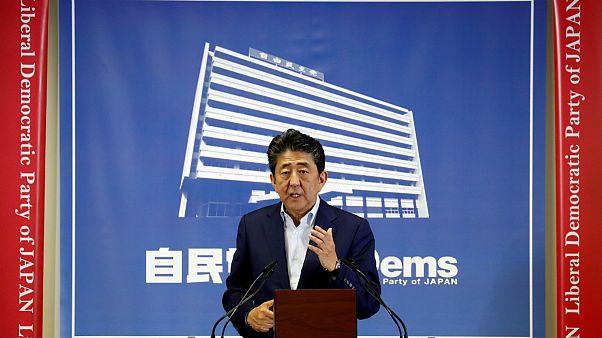 شینزو آبه، نخست وزیر ژاپن