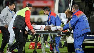 Dinamo Bükres teknik direktörü maç sırasında kalp krizi geçirdi