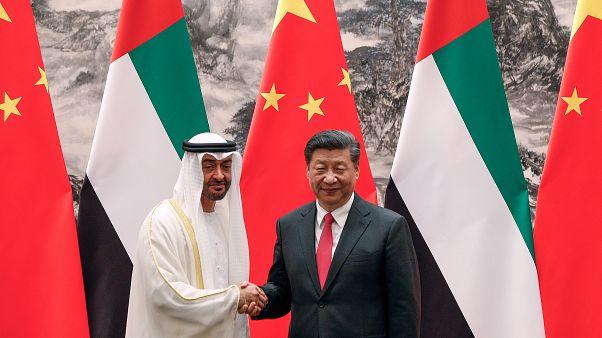 BAE Veliaht Prensi Muhammed bin Zayed / Çin Devlet Başkanı Şi Cinping