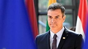 Pedro Sánchez durante el último Consejo Europeo