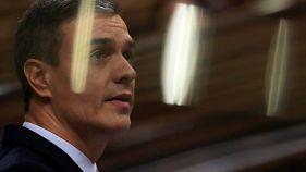 Directo: debate de investidura de Pedro Sánchez en el Congreso español
