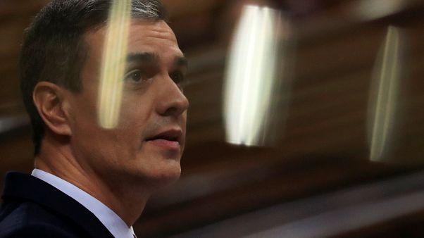 Debate de investidura de Pedro Sánchez en el Congreso español
