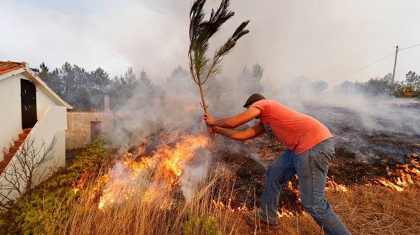 Incendies au Portugal : les pompiers craignent une reprise