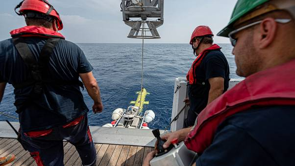 """Nach einem halben Jahrhundert taucht die verschollene """"Minverve"""" auf dem Meeresgrund wieder auf"""