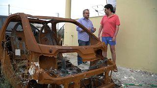 Un año después del incendio de Mati las víctimas se sienten abandonadas