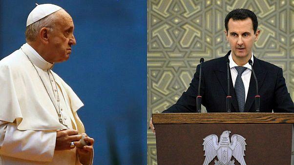 Papa Francis / Beşşar Esad