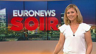 Euronews Soir : l'actualité du lundi 22 juillet 2019