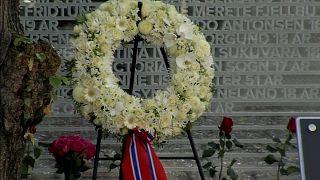 Норвегия: память о жертвах теракта