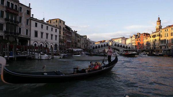 O turismo está canalizado para Veneza