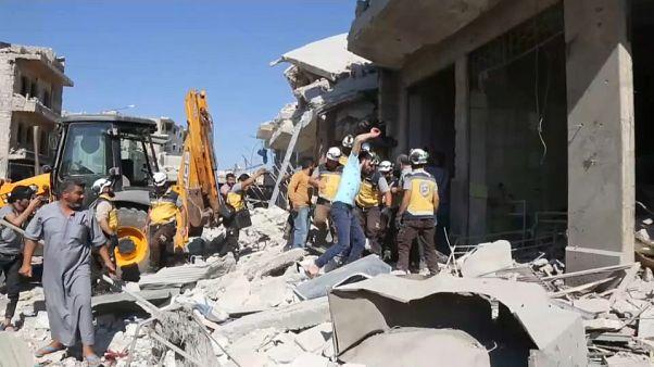 روسيا تنفي مشاركتها في قصف أوقع 20 قتيلا على الأقل بمدينة خاضعة للمعارضة السورية