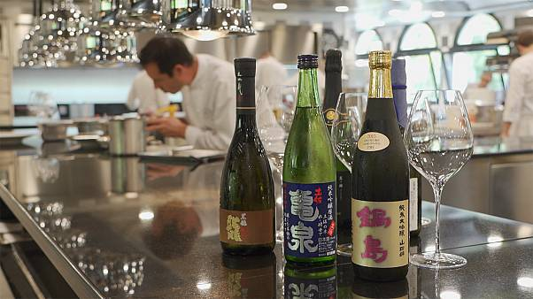 European chefs discover the delight of Japanese sake