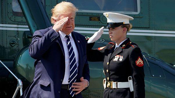 ترامپ ادعای ایران درباره «جاسوسهای مرتبط با آمریکا» را «دروغ» خواند