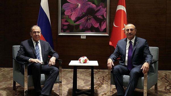 Dışişleri Bakanı Çavuşoğlu Rus mevkidaşı Lavrov ile İdlib konusunu görüştü