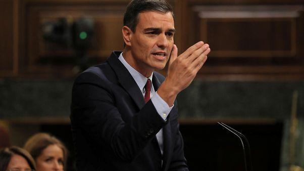 Pedro Sánchez obtiene reproches de la derecha y de la izquierda