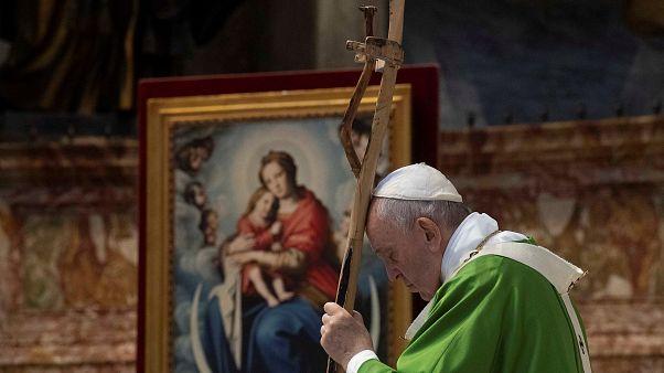 Levelet írt Bassár el-Aszadnak a pápa