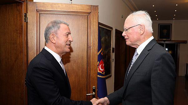 """Akar'dan ABD'nin Suriye temsilcisi Jeffrey'e: """"PKK/YPG ile yaptığınız görüşmelerden rahatsızız"""""""
