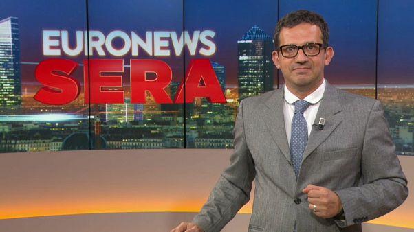 Euronews Sera Tg Europeo, edizione di lunedì 22 luglio