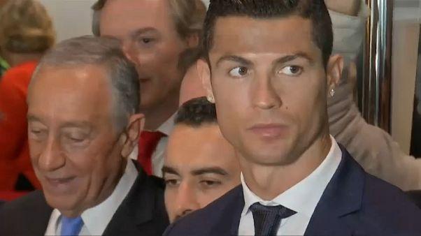 Cristiano Ronaldo: Vergewaltigung vom Tisch