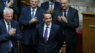 Bizalmat szavazott a parlament az új görög miniszterelnöknek