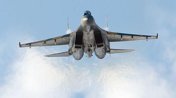 مقاتلة روسية من نوع سوخوي 35