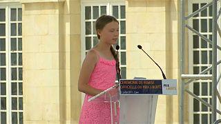 Greta Thunberg divide l'opinione pubblica francese