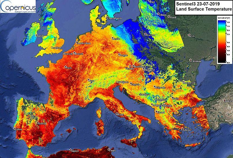 Datos de Copernicus Sentinel procesado por Antonio Vecoli con @PlatformAdam