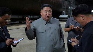 Kuzey Kore'den ABD'ye mesaj: Kim Jong Un yeni 'nükleer' denizaltıyı teftiş etti