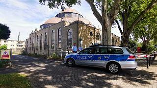 Almanya'nın Duisburg kentindeki DİTİB'e bağlı cami