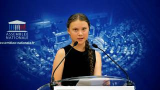 Greta Thunberg urges French MPs to 'listen to scientists' and act to reduce global warming