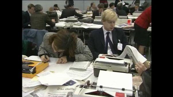 Boris Johnson: gli anni a Bruxelles