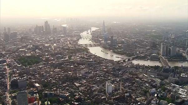 London von oben.
